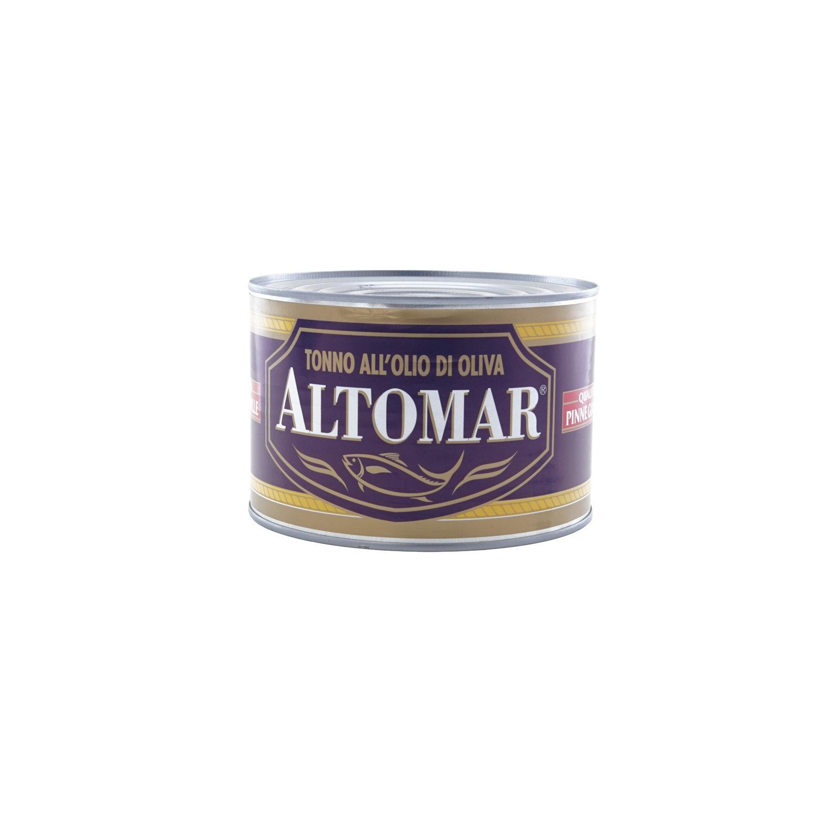 ALTOMAR – TONNO PI .GIALLA ALL'OLIO DI OLIVA KG 1,730