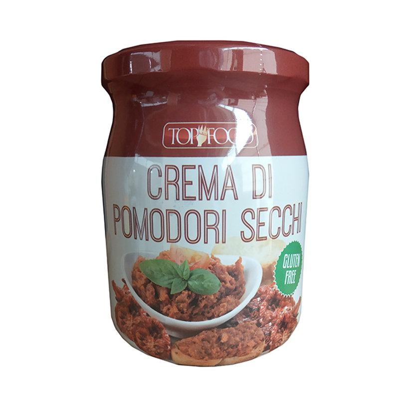 TOP FOOD – CREMA DI POMODORI SECCHI  GR. 520