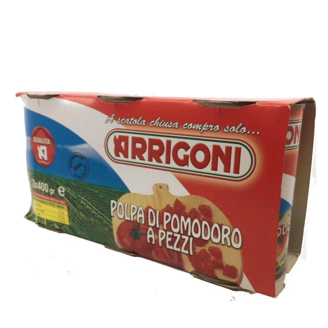 ARRIGONI – POMOD. POLPA TRIS GR 400 3X8 BLISTER