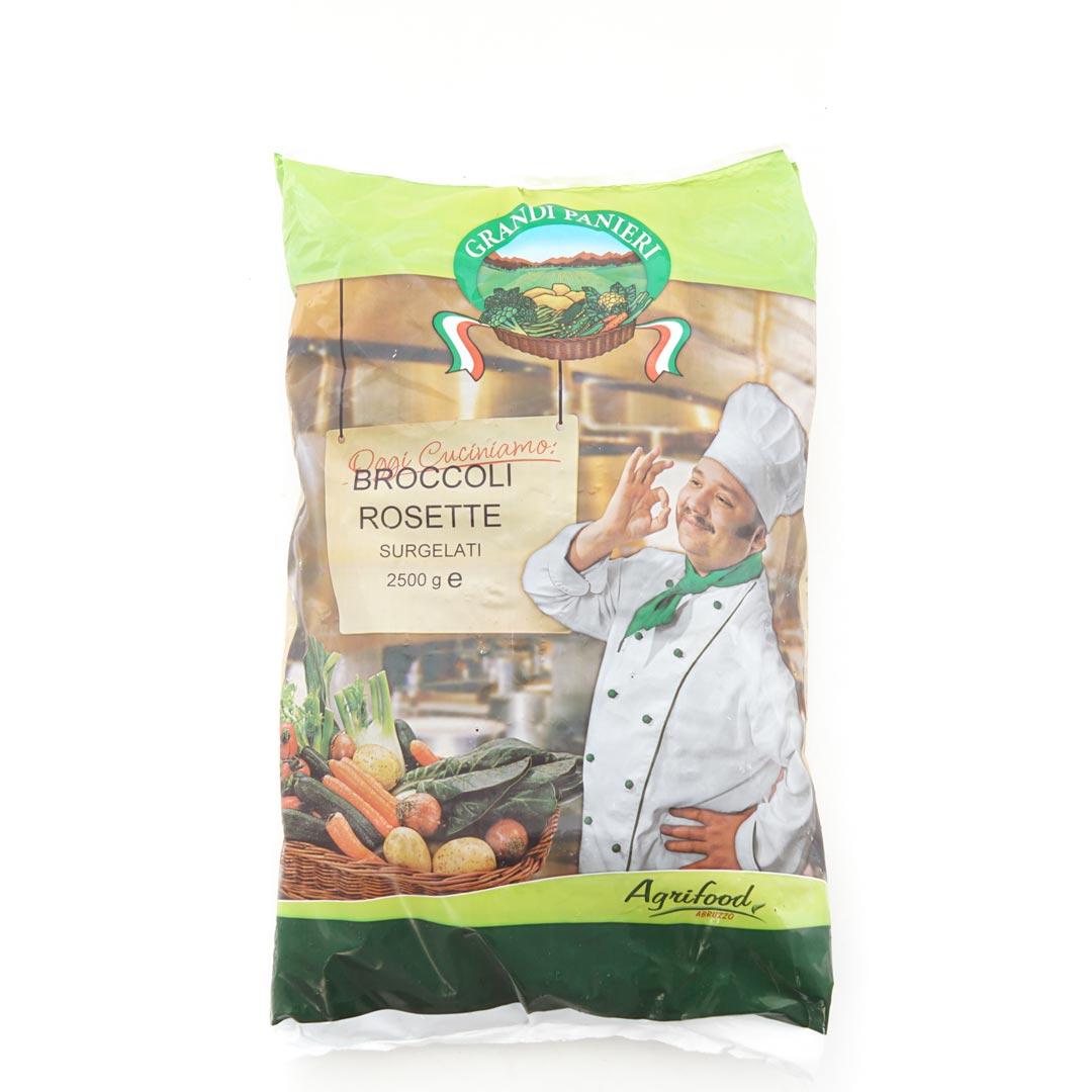 AGRIFOOD – GRANDI PANIERI BROCCOLO ROSETTE IQF KG 2,5
