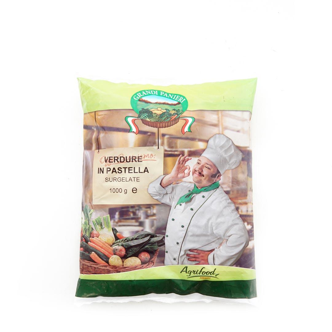 AGRIFOOD – VERDURE PASTELLATE  KG 1