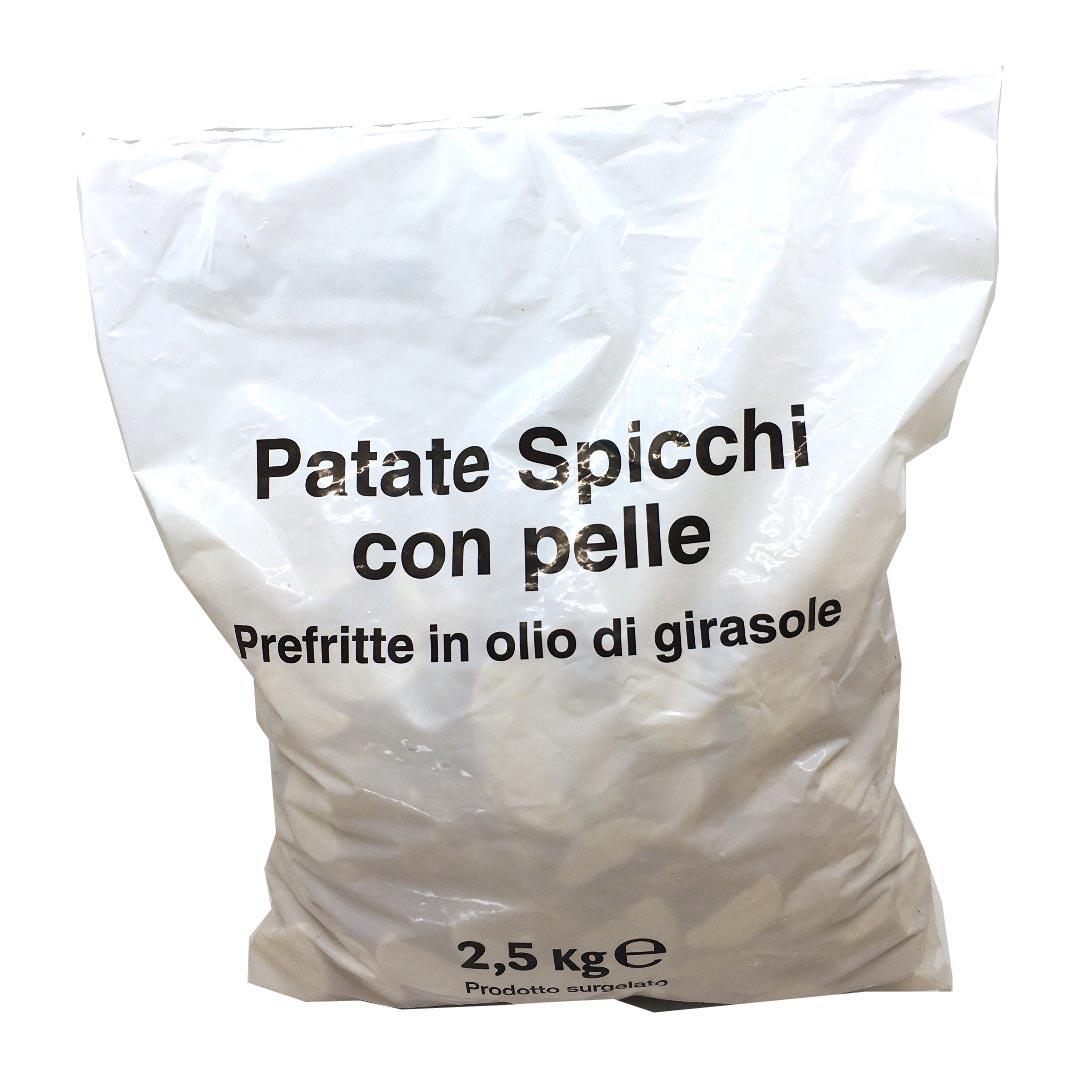 AGRIFOOD – PATATE SPICCHI CON BUCCIA SUNFLOWER KG 2,5