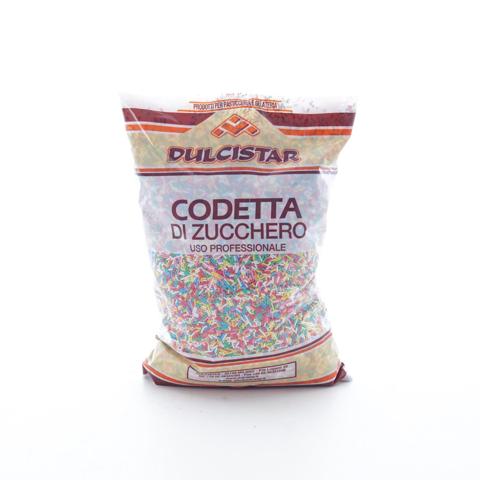 DULCISTAR – CODETTA ARLECCHINO ZUCCHERO BS  KG1