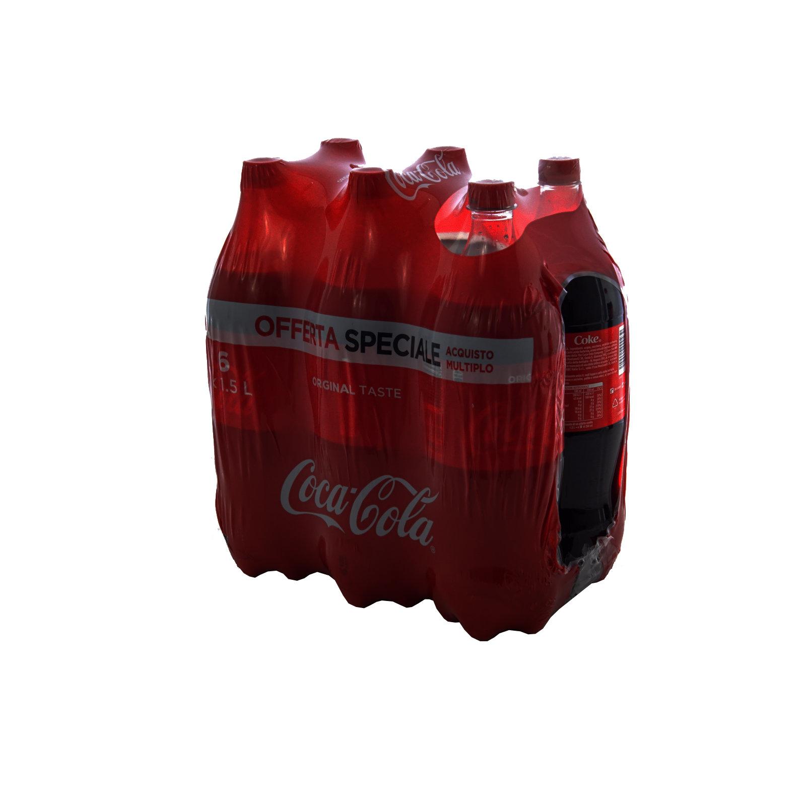 COCA COLA LT. 1,5 X 6 PET