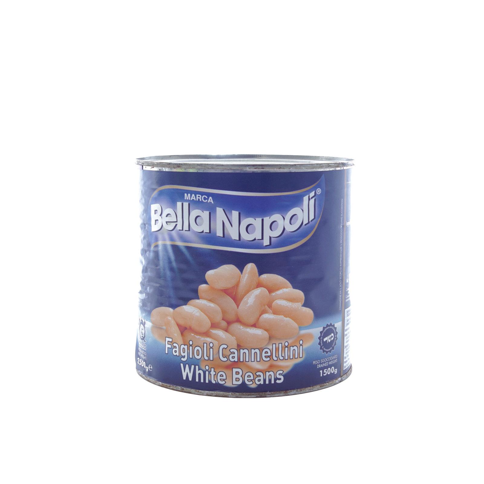 BELLA NAPOLI – FAGIOLI CANNELLINI LESS. KG. 3