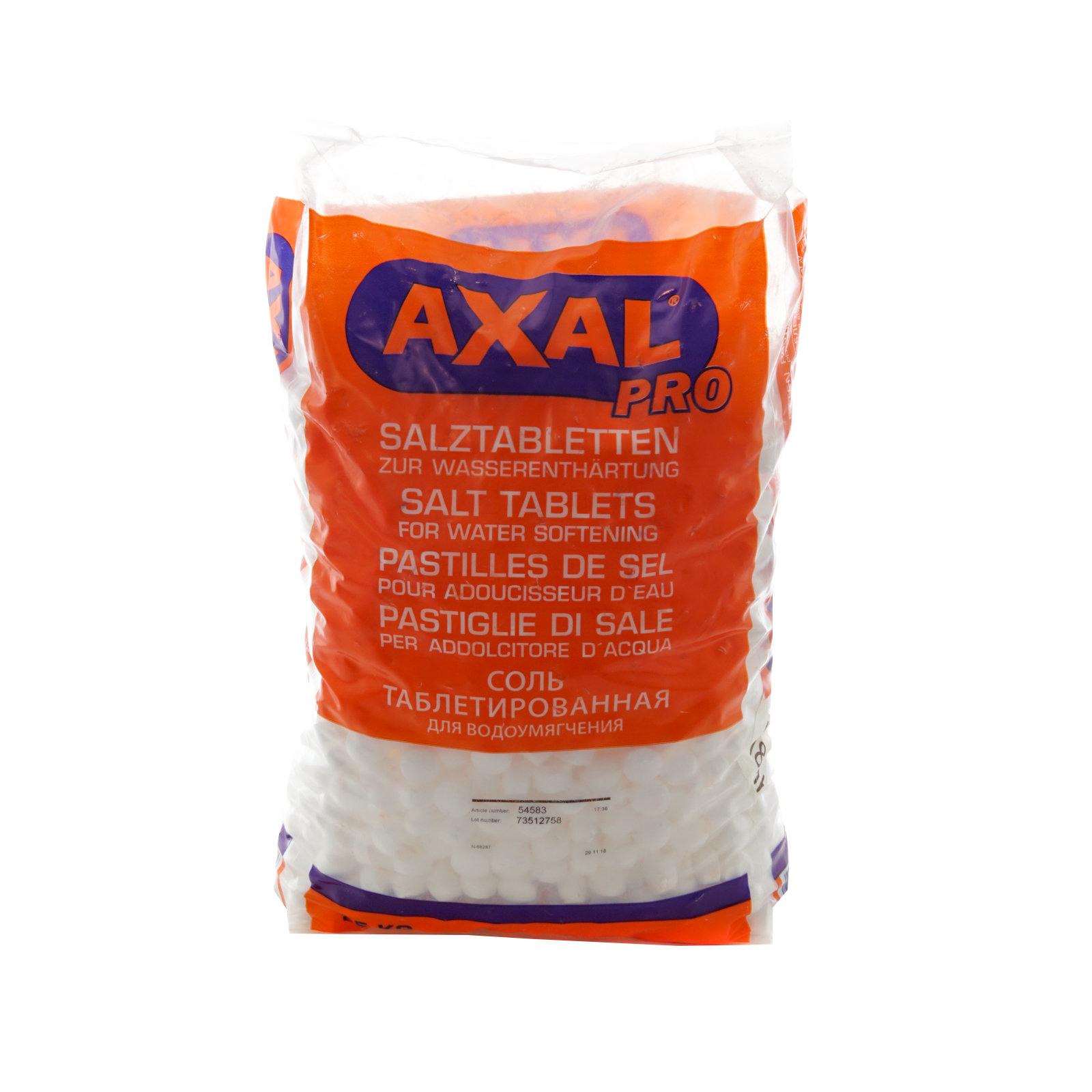 AXAL – SALE IN PASTIGLIE DA KG 25
