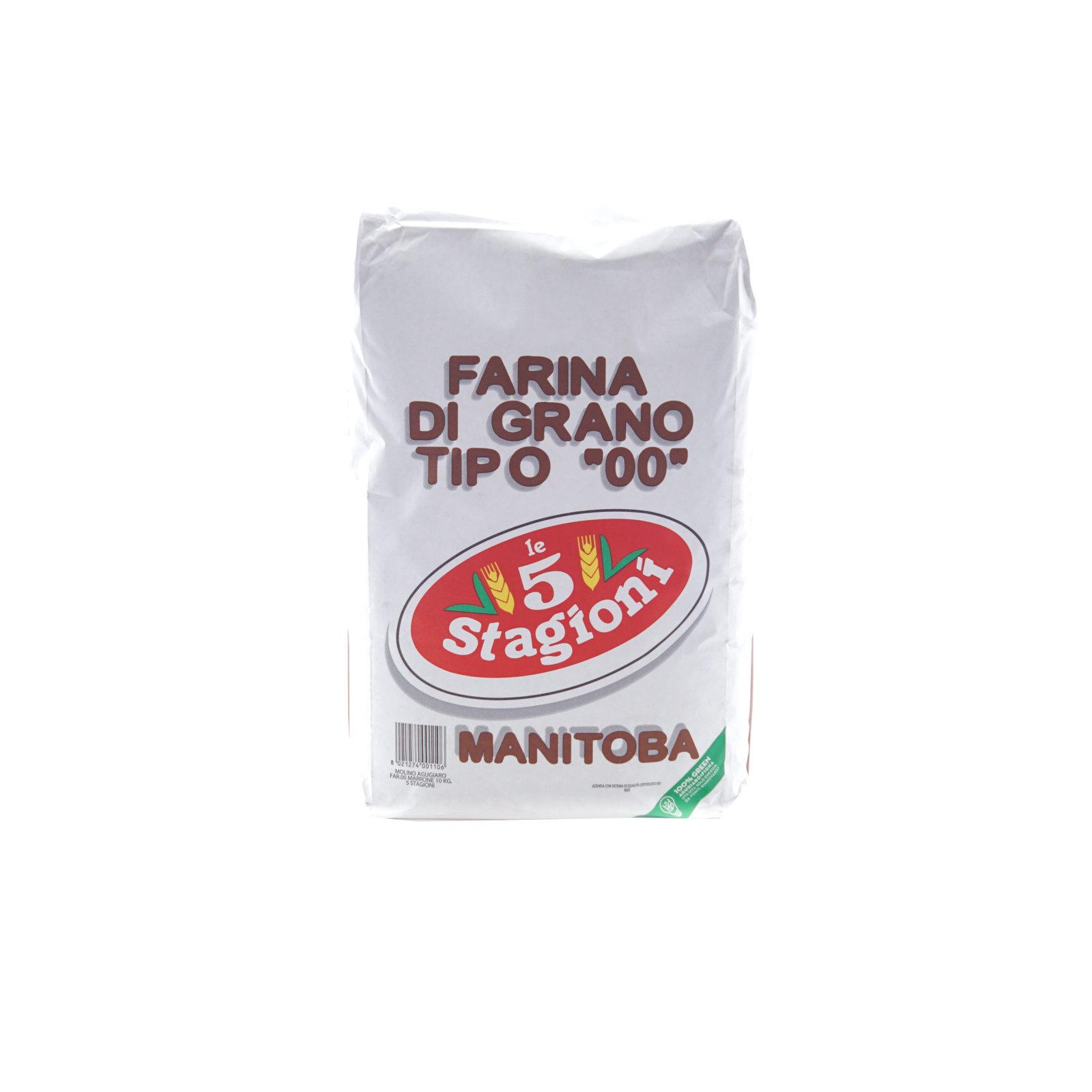 5 STAGIONI – 00 MANITOBA DA 10 KG.