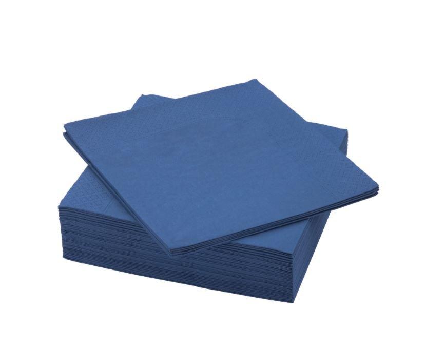 """TOVAGLIOLO MONO """"STILE MARE BLUE"""" 40X40 CONF.50 PZ."""