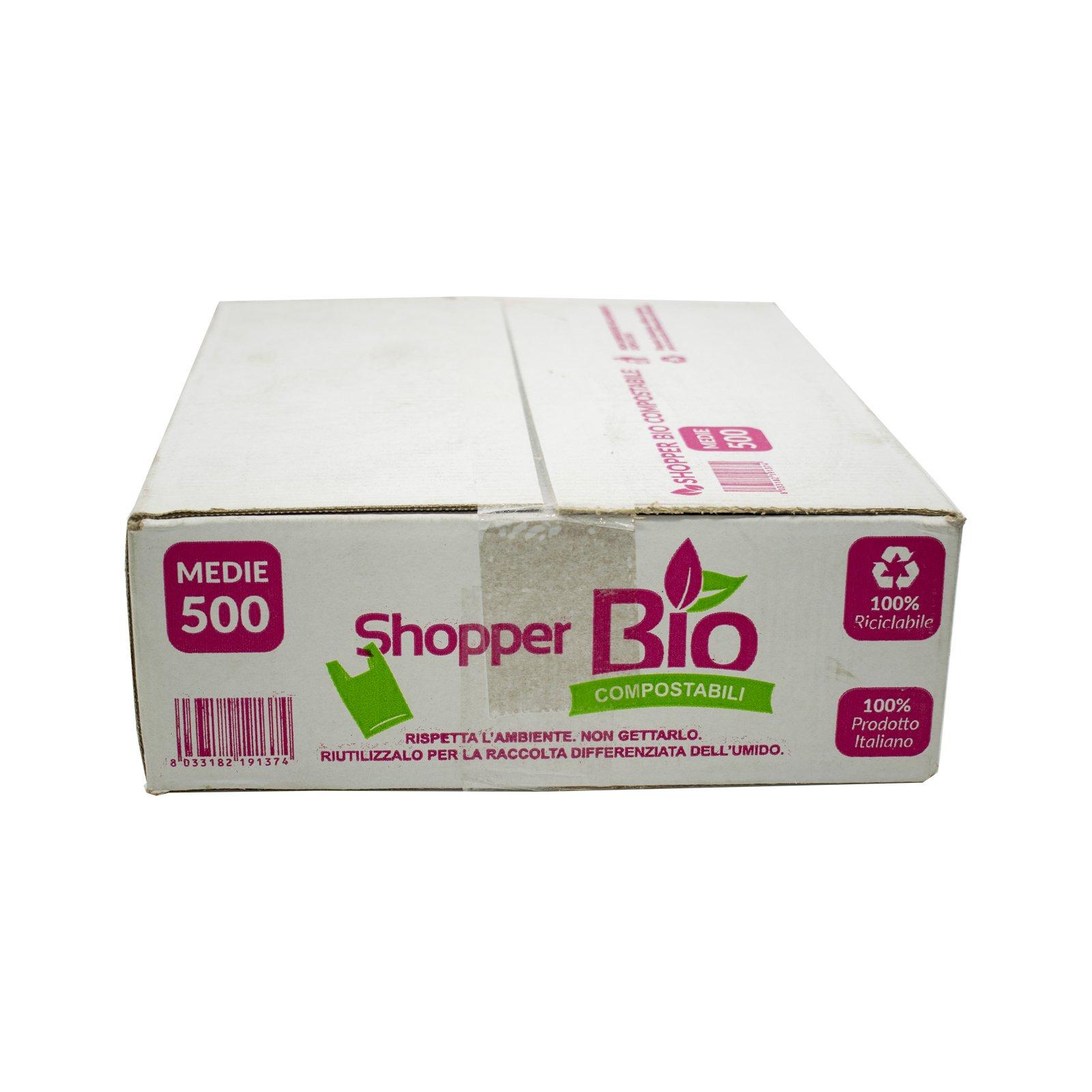 CARTARIA – SHOPPER BIO ECO MEDIE GR. 6,5 500 PZ (KG.3,25)
